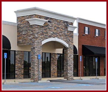 Commercial Building with Stone Veneers in Columbus, OH